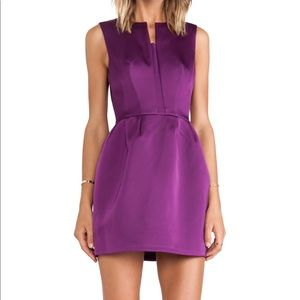 C/meo Collective purple cocktail dress
